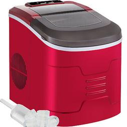 26lb/24h Portable Ice Maker Bullet Ice Tabletop ABS Shell 2