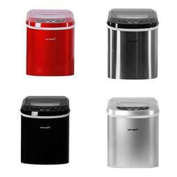 27 lb. Portable Countertop Ice Maker in 5 Colors Compact Sma
