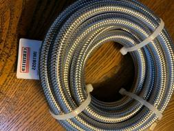Certified Appliance Accessories Braided Stainless Steel Ice
