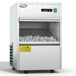 Costway Automatic Ice Maker Stainless Steel 58lbs/24h Freest