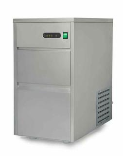 Sunpentown 44 lbs Automatic Stainless Steel Ice Maker