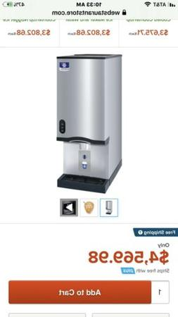 Manitowoc Cnf0202 Countertop Nugget Ice Maker and Dispenser