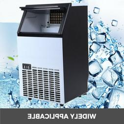 Commercial Ice Cube Maker Machine Auto Built-in Cube Stainle