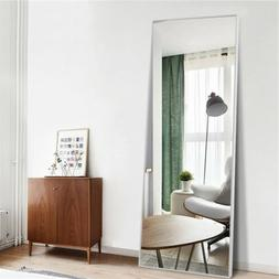 Full Length  Floor Mirror Free Standing Stand Wall Mounted L