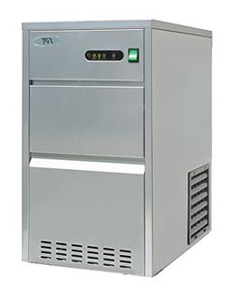 SPT IM-441C 44 lbs Automatic Stainless Steel Ice Maker, Silv
