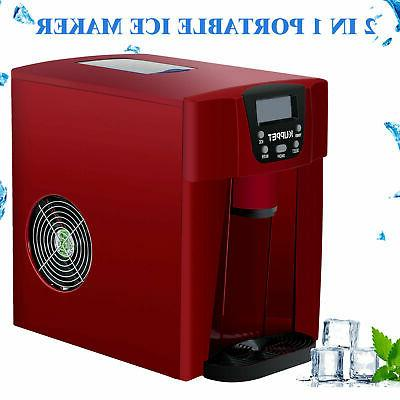 Electric Countertop Ice Water Dispenser 26LBS