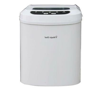 27 lb. Ice Maker in 5 Colors Compact Small Makes Ice