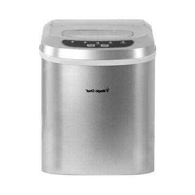 27 lb. Countertop Ice Maker in Colors Compact Small Ice Cubes