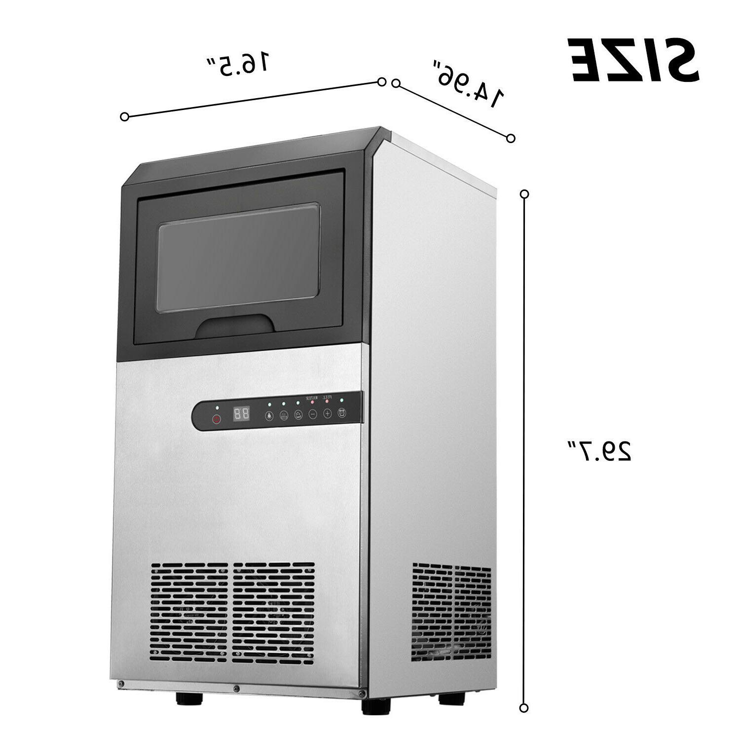 30KG/24Hrs Volume Commercial Ice Machine Free