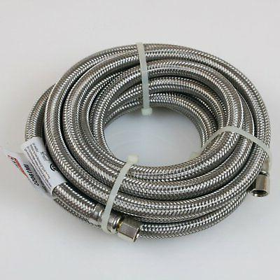 Certified Appliance Stainless Steel Ice Maker Connector,