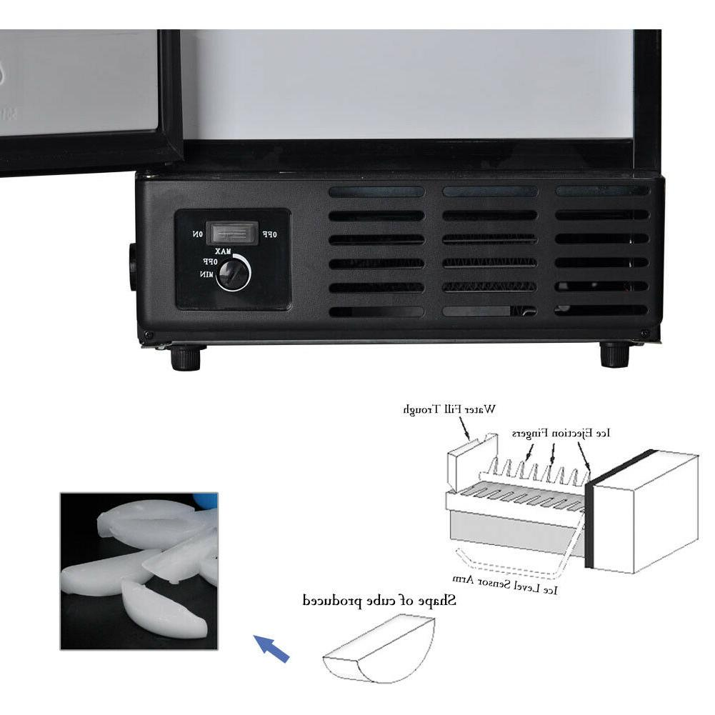 Smad Built-In Commercial Machine Ice Maker Fridge