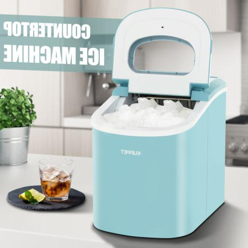 Electric Compact Portable Ice Maker Cube Home