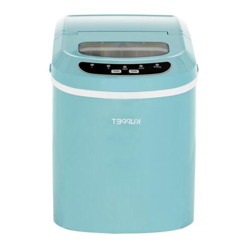 electric compact portable ice maker countertop cube