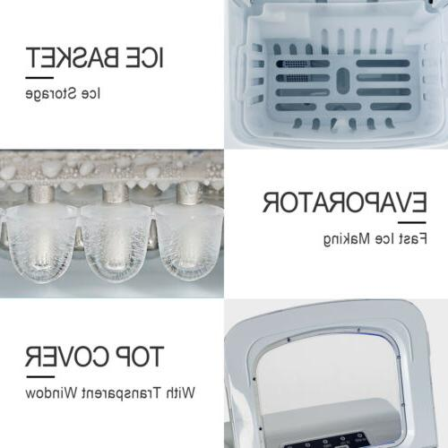 Electric Ice Compact Machine Silver
