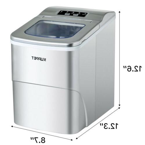 Electric Maker Compact Ice Machine 26lbs/Day