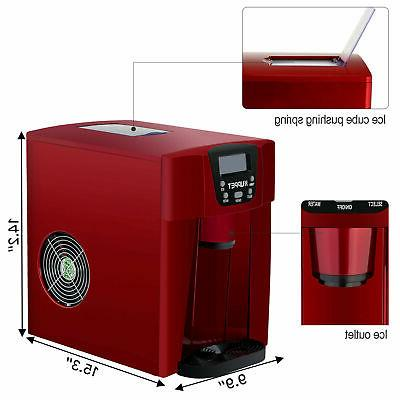 Electric 2 Countertop Ice Water Dispenser 26LBS