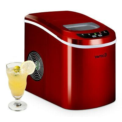 Ice Maker Portable Compact Electric Machine Mini Cube 26lb /