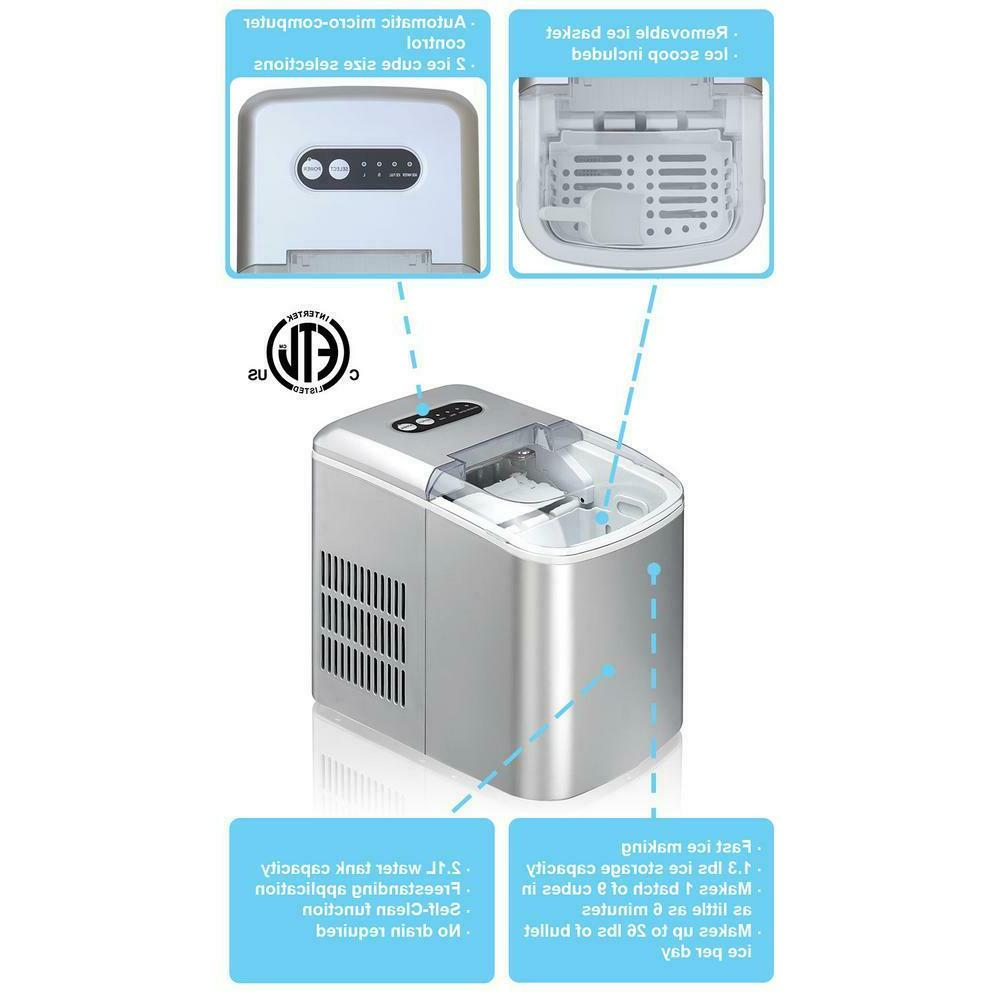 Portable Compact Ice Maker Machine26 Home Icemaker
