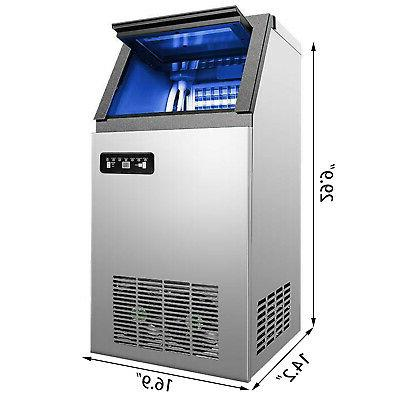 Stainless Undercounter Maker Air Cooled