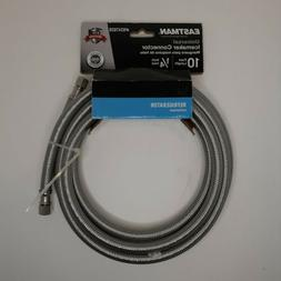 NEW - Eastman 10 Foot 1/4 Inch Universal Icemaker Connector