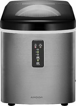 Open-Box Excellent: Insignia- 33-Lb. Portable Ice Maker - St
