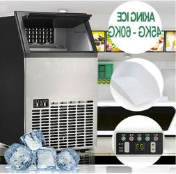 Portable Commercial Compact Ice Cube Maker Machine Home BBQ