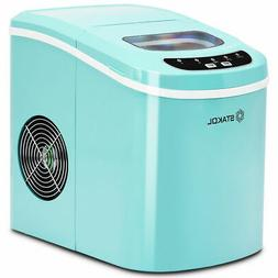 Portable Compact Electric Ice Maker Machine Mini Cube 26 lbs