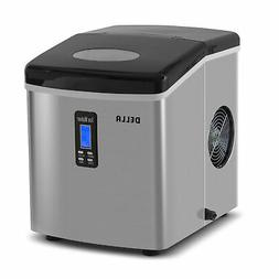 Della© Portable High Capacity Electric Ice Maker w/ LCD