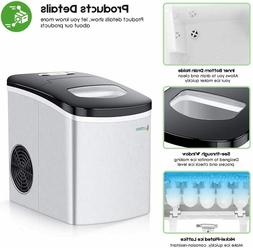 Portable Ice-Maker for Countertop 26 lbs/24H Production Elec