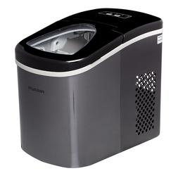 Portable Ice Maker Self Cleaning Compact Countertop / Stainl