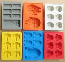 Silicone Star Wars Ice Maker Cube Tray Mold Cocktail Whiskey
