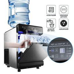 Stainless Steel Commercial Ice Maker Built-In countertop Fre
