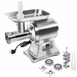 NO TAX! Commercial Stainless Steel True 1HP Electric Meat Gr